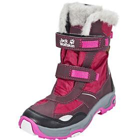 Jack Wolfskin Snow Flake Texapore Winter Boots Girls mahogany